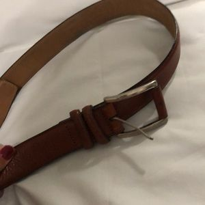 Other - Men's brown leather belt size 38